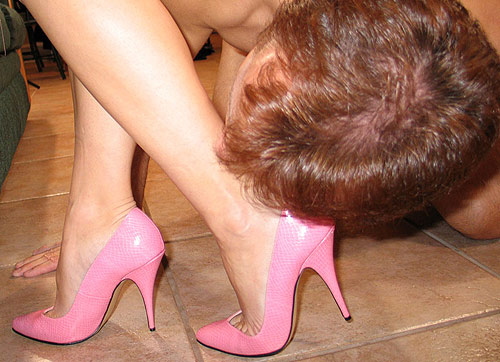 Pink Shoes Dominatrix