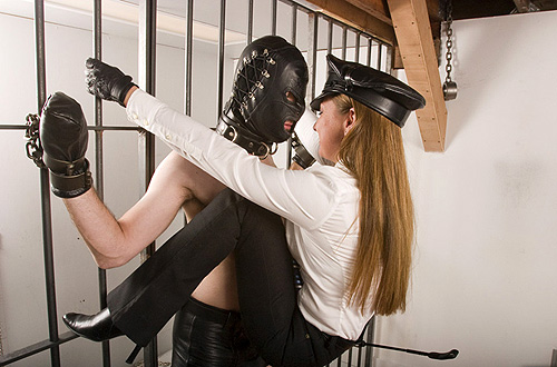Aggressive femdom mistress